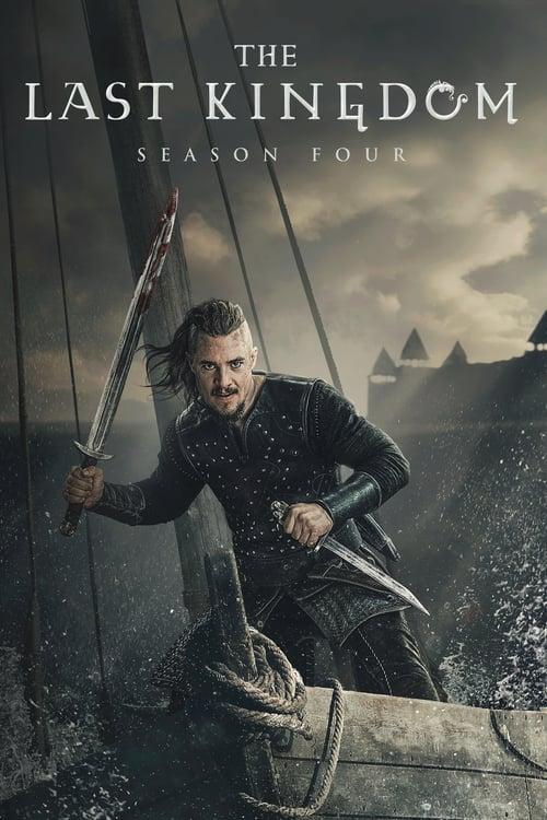 Cover of the Season 4 of The Last Kingdom