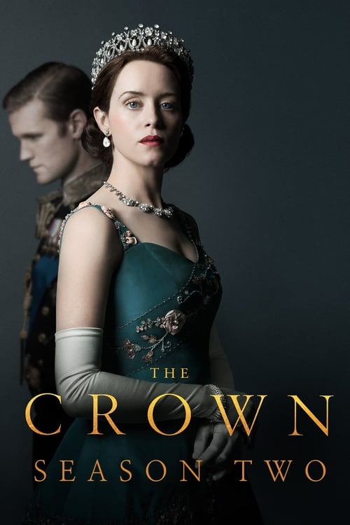 Cover of the Season 2 of The Crown