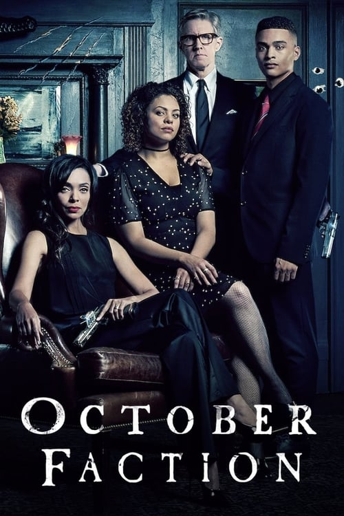 Cover of the Season 1 of October Faction
