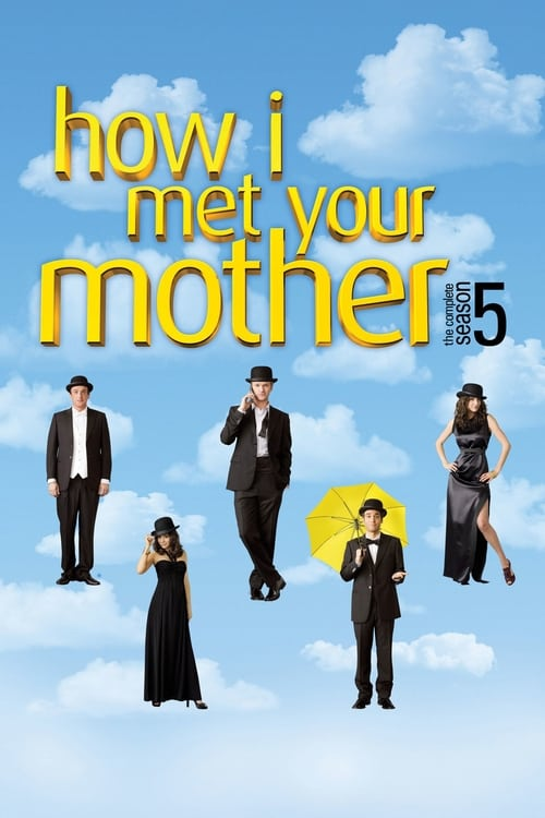 Cover of the Season 5 of How I Met Your Mother