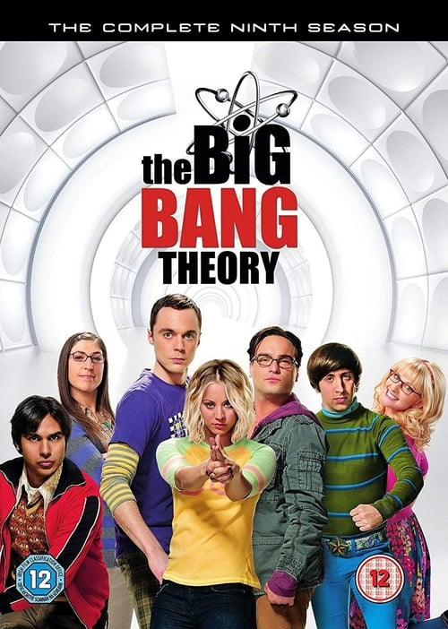 Cover of the Season 9 of The Big Bang Theory