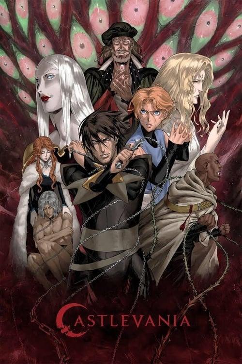 Cover of the Season 3 of Castlevania