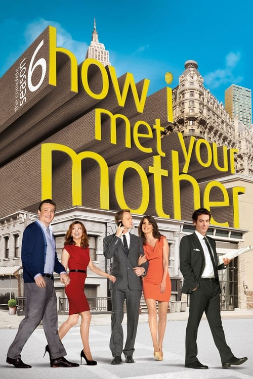 Cover of the Season 6 of How I Met Your Mother