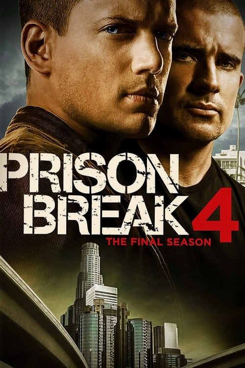 Cover of the Season 4 of Prison Break