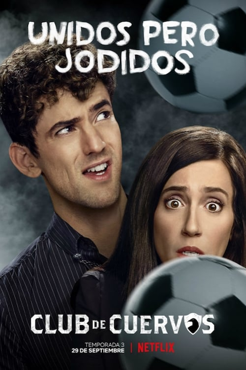 Cover of the Season 3 of Club de Cuervos