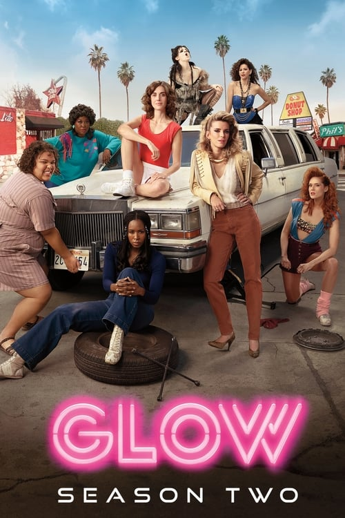 Cover of the Season 2 of GLOW