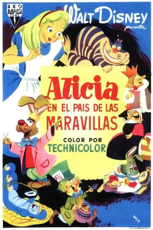 Alicia en el País de las Maravillas (1951) PelículA CompletA 1080p en LATINO espanol Latino