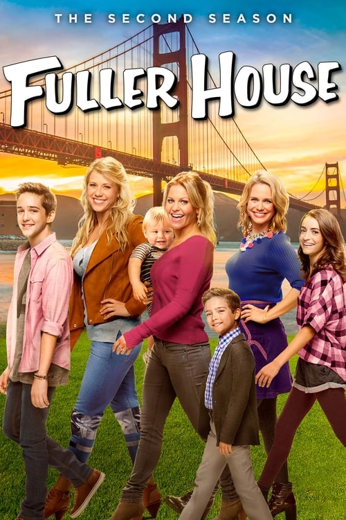 Cover of the Season 2 of Fuller House