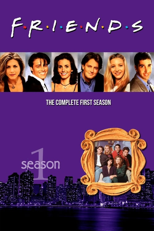 Cover of the Season 1 of Friends