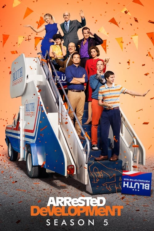 Cover of the Season 5 of Arrested Development
