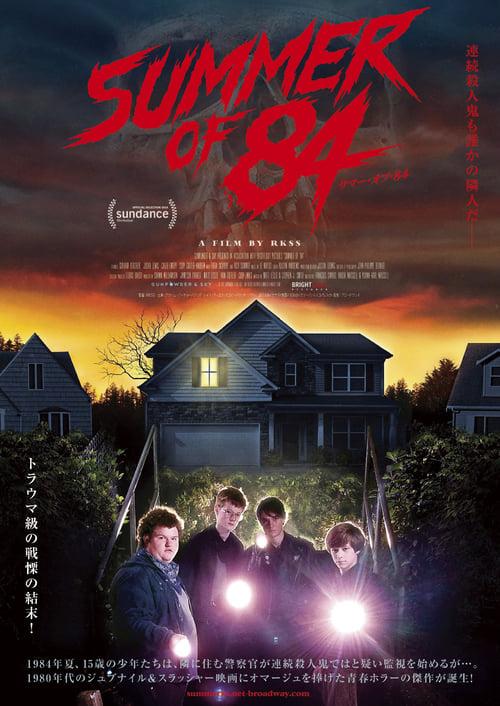Summer of 84 (2018) Watch Full Movie Streaming Online