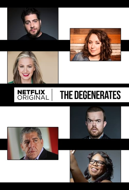 Cover of the Season 1 of The Degenerates