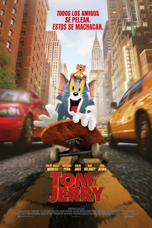 Tom y Jerry (2021) Repelisplus Ver Ahora Películas Online Gratis Completas en Español y Latino HD