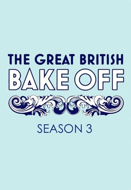 Cover of the Series 3 of The Great British Bake Off