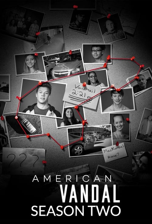 Cover of the Season 2 of American Vandal