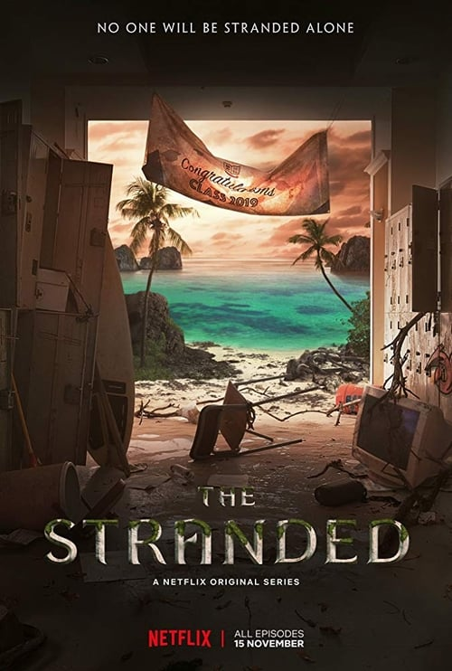 Cover of the Season 1 of The Stranded