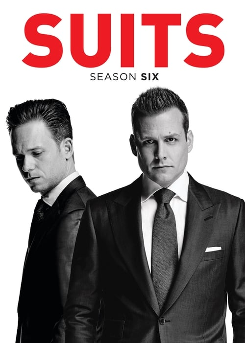 Cover of the Season 6 of Suits