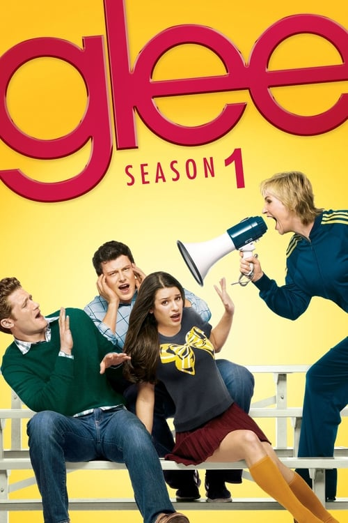 Cover of the Season 1 of Glee