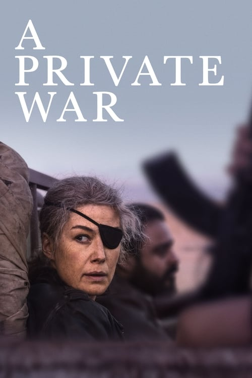 A Private War (2018) Poster