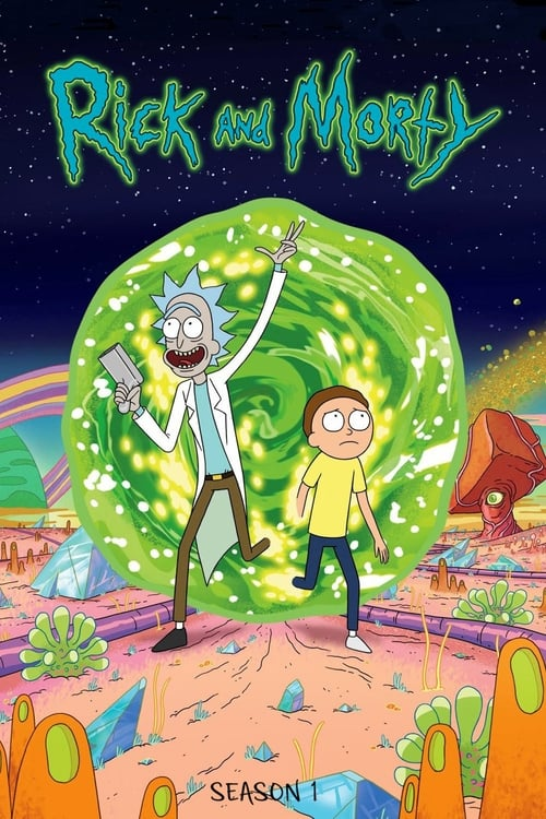 Cover of the Season 1 of Rick and Morty
