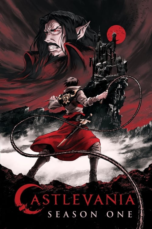 Cover of the Season 1 of Castlevania