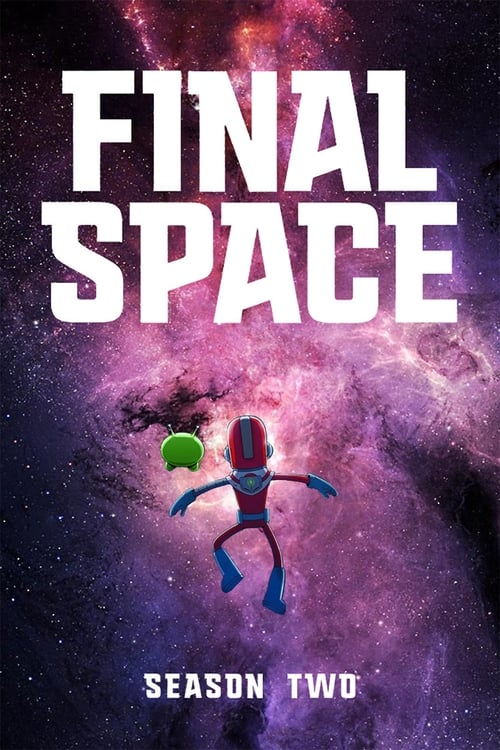 Cover of the Season 2 of Final Space