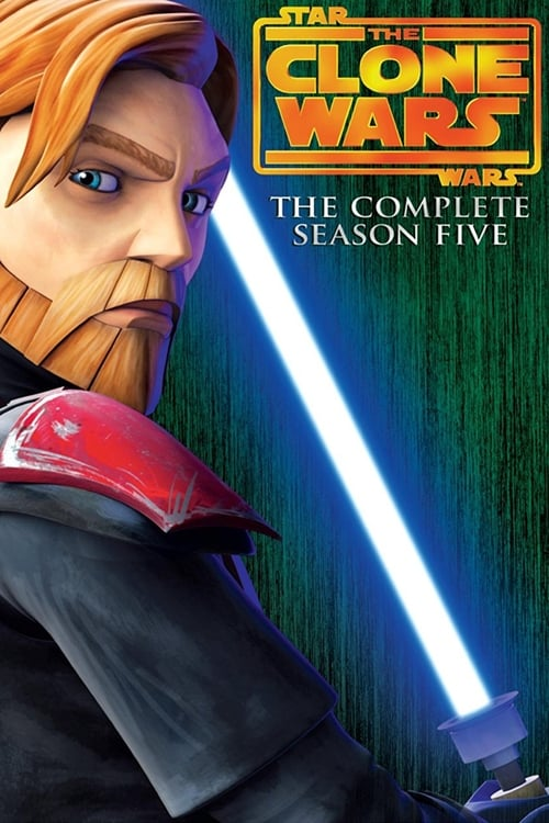 Cover of the Season 5 of Star Wars: The Clone Wars