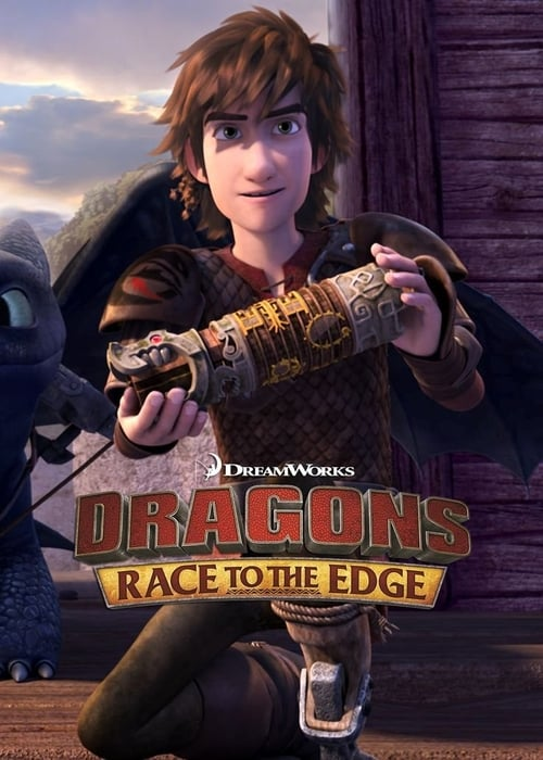 Cover of the Race to the Edge Pt. 2 of DreamWorks Dragons