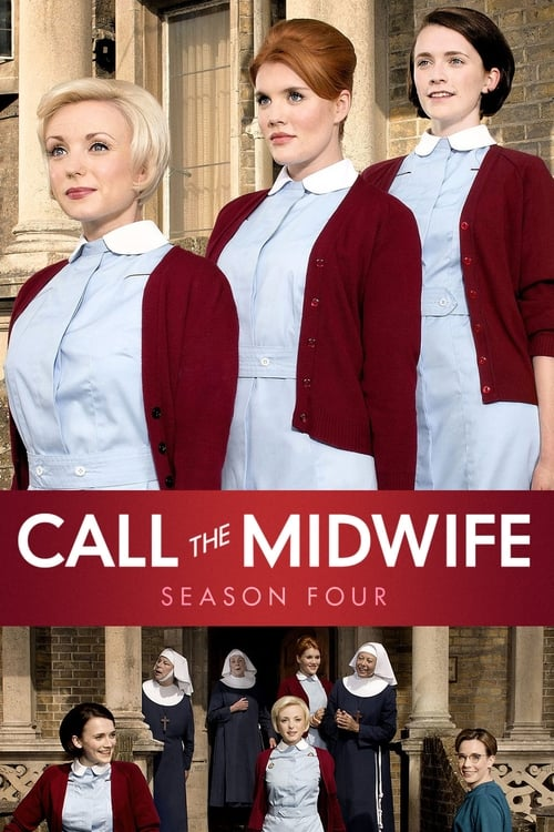 Cover of the Series 4 of Call the Midwife