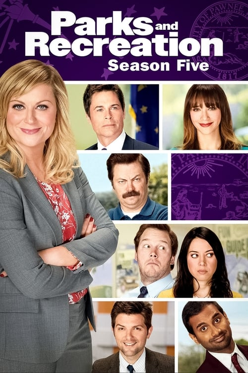 Cover of the Season 5 of Parks and Recreation