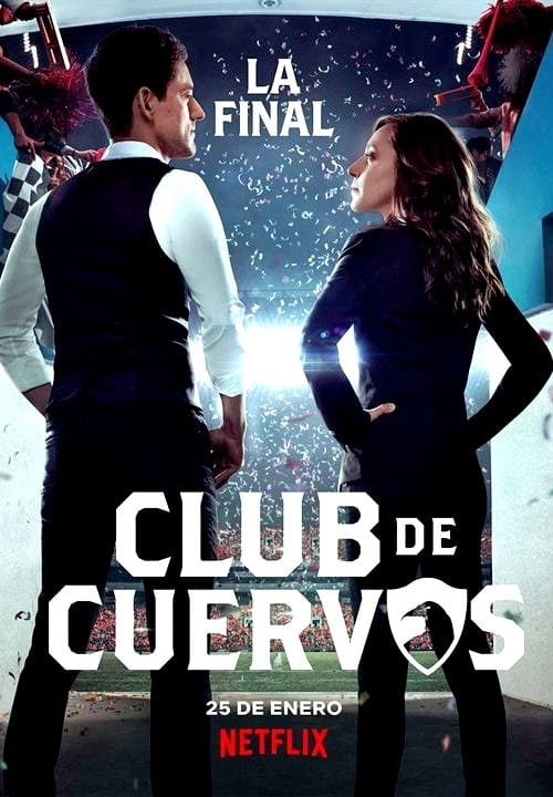 Cover of the Season 4 of Club de Cuervos