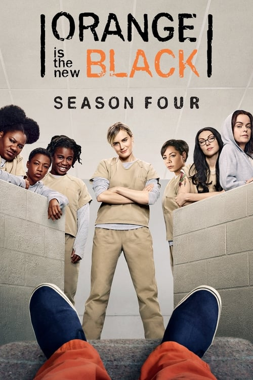 Cover of the Season 4 of Orange Is the New Black