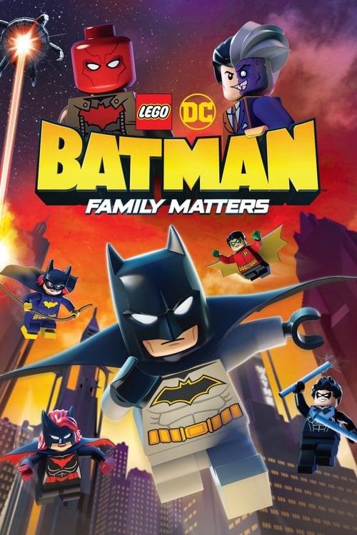 watch Lego DC Batman: Family Matters full movie online stream free HD