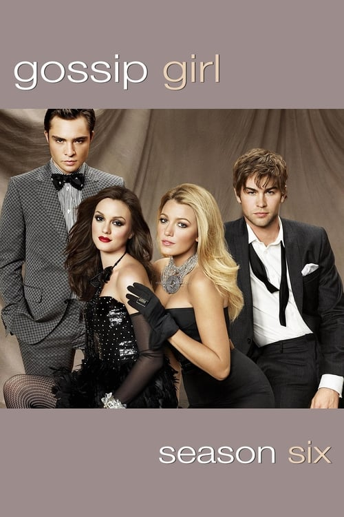 Cover of the Season 6 of Gossip Girl