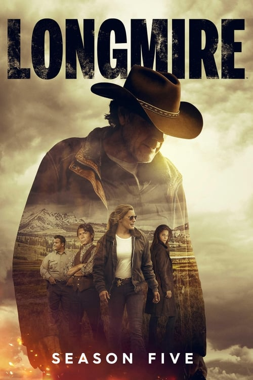 Cover of the Season 5 of Longmire