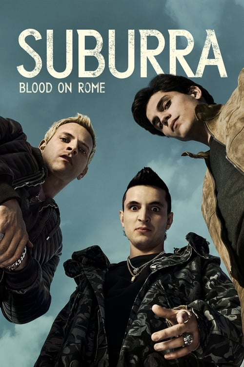 Cover of the Season 1 of Suburra: Blood on Rome