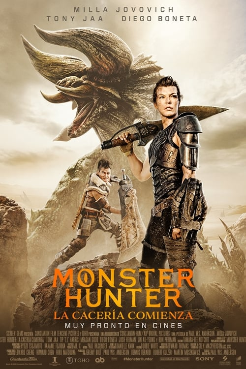 Monster Hunter (2020) Repelisplus Ver Ahora Películas Online Gratis Completas en Español y Latino HD