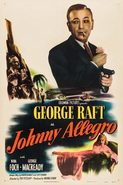 Johnny Allegro (1949) PelículA CompletA 1080p en LATINO espanol Latino