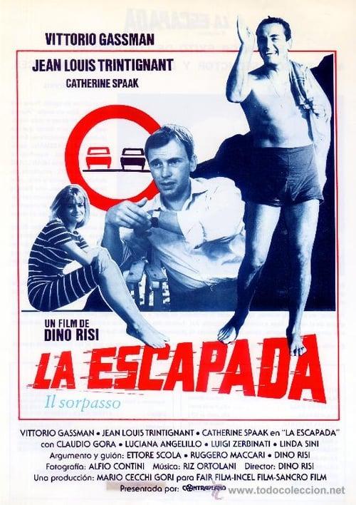 La escapada (1962) PelículA CompletA 1080p en LATINO espanol Latino