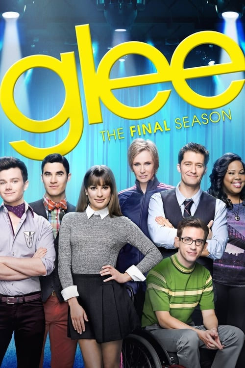 Cover of the Season 6 of Glee