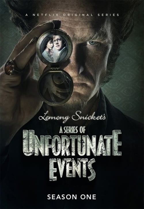 Cover of the Season 1 of A Series of Unfortunate Events