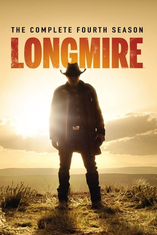 Cover of the Season 4 of Longmire