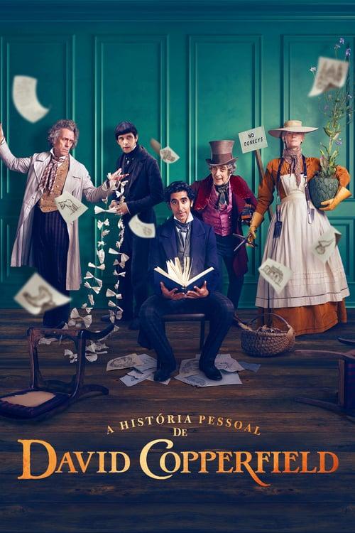 A História Pessoal de David Copperfield 2021 - Dual Áudio 5.1 / Dublado BluRay 1080p