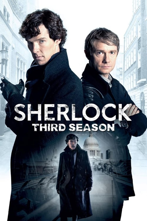 Cover of the Series 3 of Sherlock