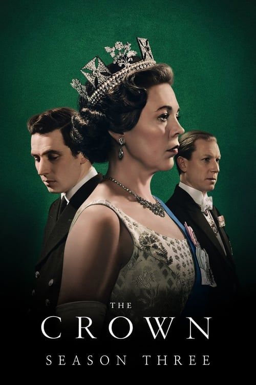 Cover of the Season 3 of The Crown