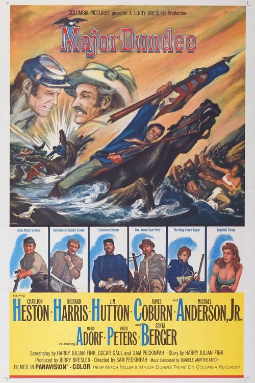 Major Dundee (1965) Watch Full Movie Streaming Online
