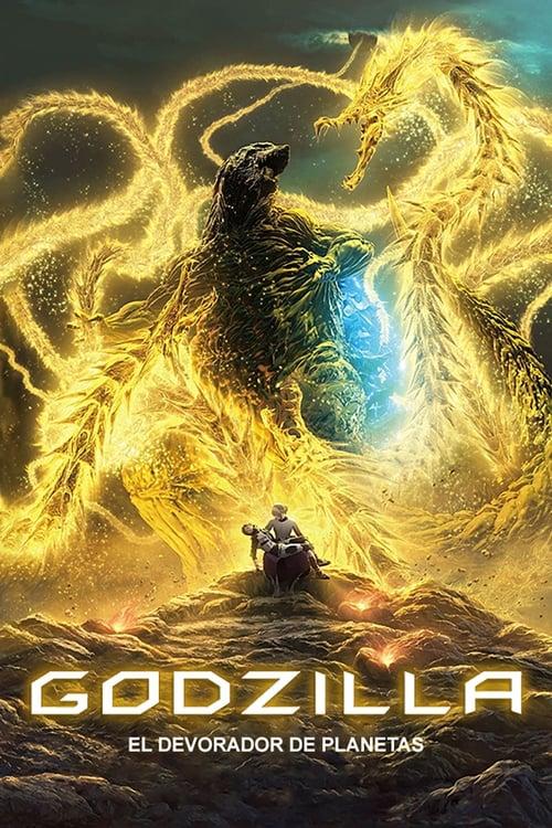 Póster Godzilla: El Devorador De Planetas