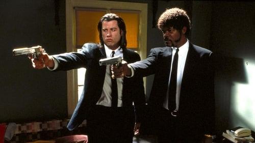 dos asesinos a sueldo con muy pocas luces Ver Pulp Fiction (1994) Pelicula Completa en español