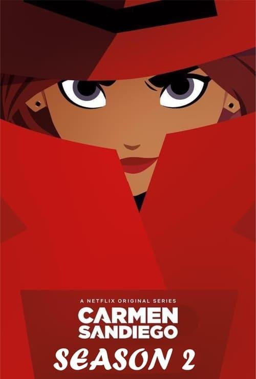 Cover of the Season 2 of Carmen Sandiego