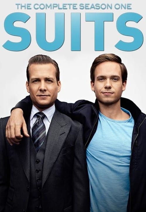 Cover of the Season 1 of Suits